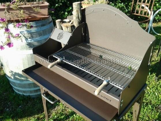 Barbecue bbq in ferro battuto vendita online il for Barbecue fai da te in ferro