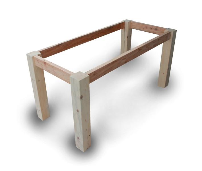 Basamenti in legno per tavoli. - Il Sasso di Calamati