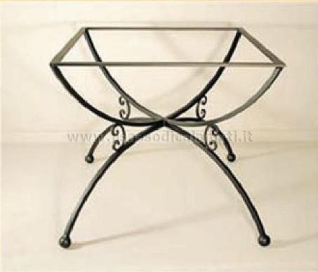 Basi per tavoli in ferro battuto vendita online il for Ferro tubolare quadrato prezzo