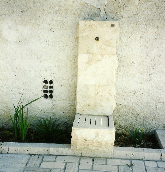 Fontanelle da giardino in pietra   il sasso di calamati   il sasso ...