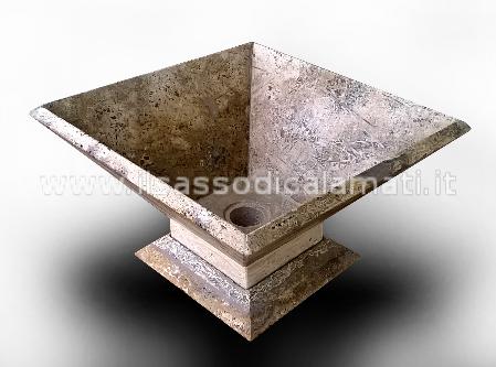 Lavelli e lavabi in pietra eleganti e economici il for Costo di finestre a clessidra