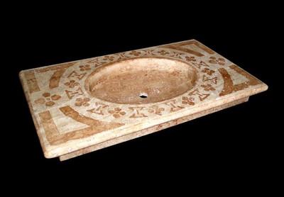 Lavandino in pietra antico infissi del bagno in bagno - Lavelli in pietra da giardino ...