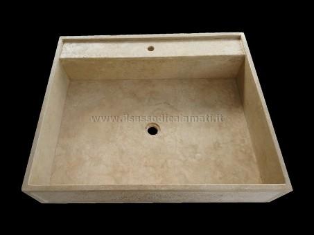 Lavelli da cucina in marmo e travertino. Misure personalizzabili - Vendita on-line - - Il Sasso ...