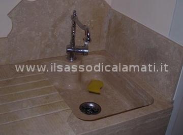 Lavabi e lavelli in marmo su misura. Vendita on-line - Il Sasso di ...