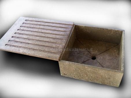 Vendita online di lavelli in pietra dal basso costo. - Il Sasso di Calamati