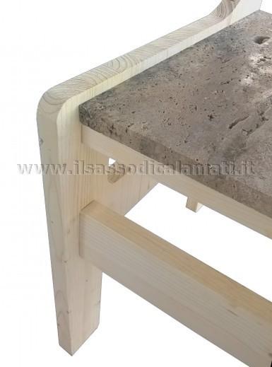 Sedie e poltroncine in legno prodotti originali il for Sedia particolare