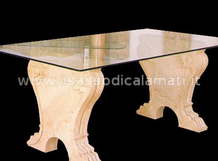 Tavoli In Pietra E Cristallo.Tavoli In Pietra E Cristallo Il Sasso Di Calamati